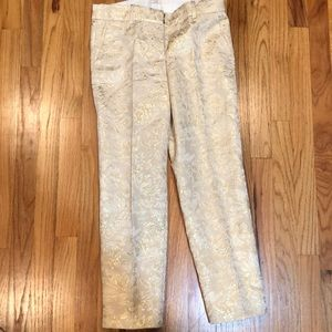 Beautiful 3/4 Jcrew pants never worn gold